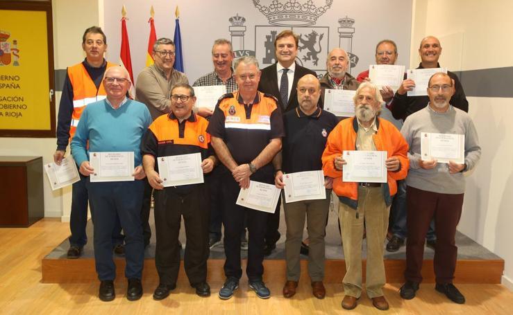 Alberto Bretón agradece la colaboración necesaria de los voluntarios de la Red Radio Emergencias (REMER) de La Rioja