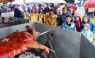 La Jornada Gastronómica del Cerdo Asado distribuirá unas 600 raciones