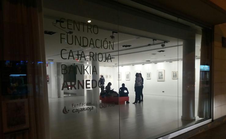 'Miradas en grafito' en Arnedo