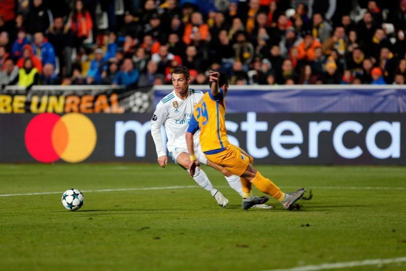 Las mejores imágenes del Apoel-Real Madrid