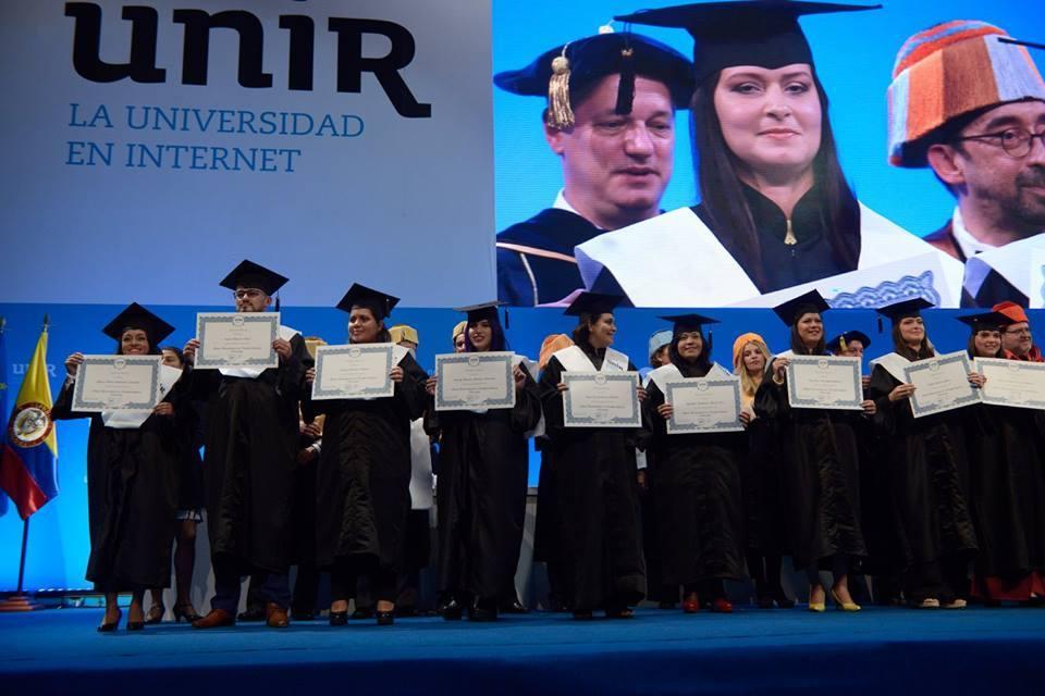 Graduación de la UNIR en Colombia