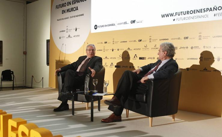 La primera jornada del foro Futuro en Español, en imágenes