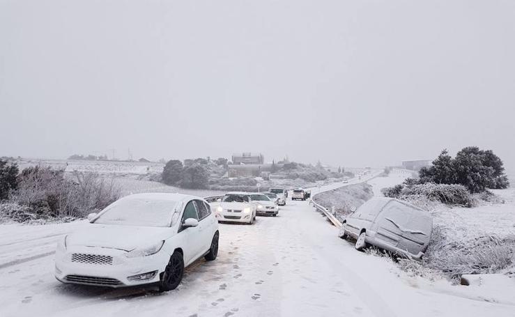 Temporal de nieve en La Rioja (I)