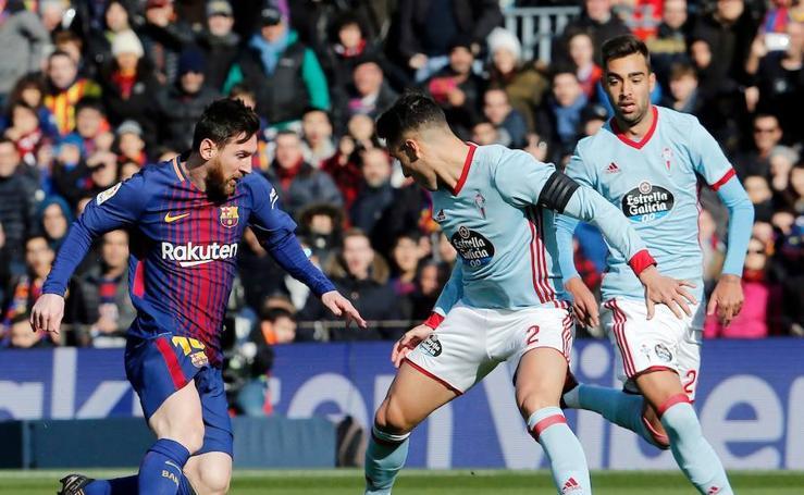Los mejores momentos del Barcelona-Celta, en imágenes