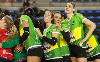 El Minis de Arluy se cruza este martes al Olympiacos en el Palacio de los Deportes de Logroño