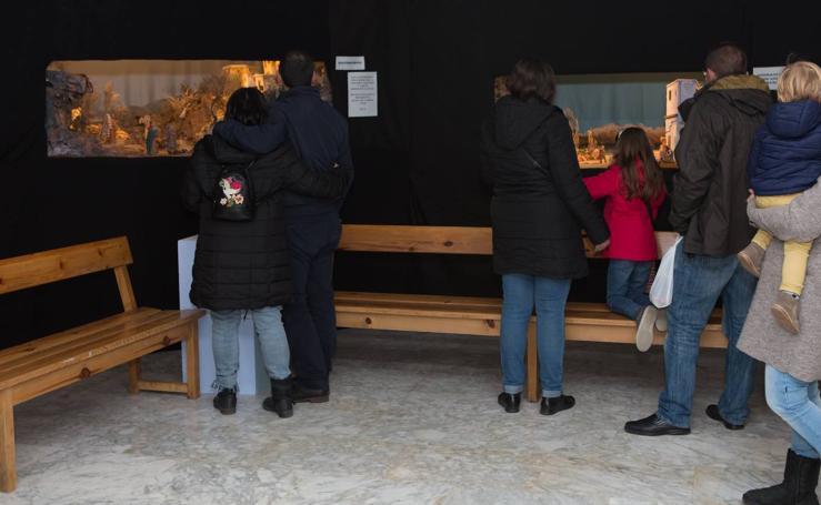 Exposición de belenes en la Esdir