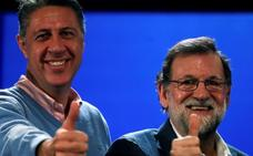 Rajoy hace bandera del 155 y apela al voto «útil» para «garantizar el cambio político» en Cataluña