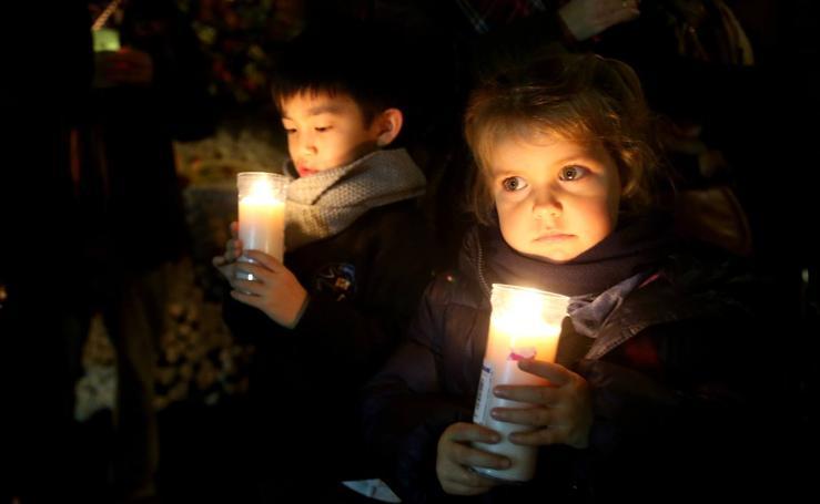 La luz de la Paz de Belén llega a Logroño
