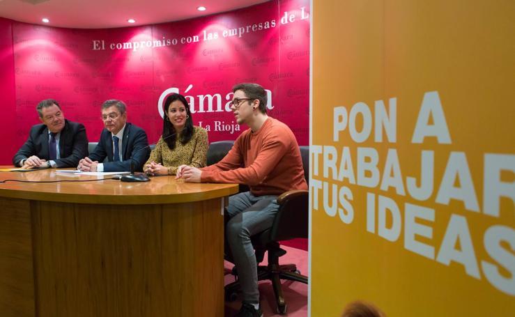 Entrega de premios del Concurso Ideas de Negocio