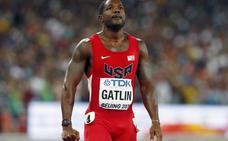 Gatlin despide a su entrenador por dopaje