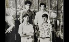 La Retina: retrato de jóvenes de Valgañón en 1971