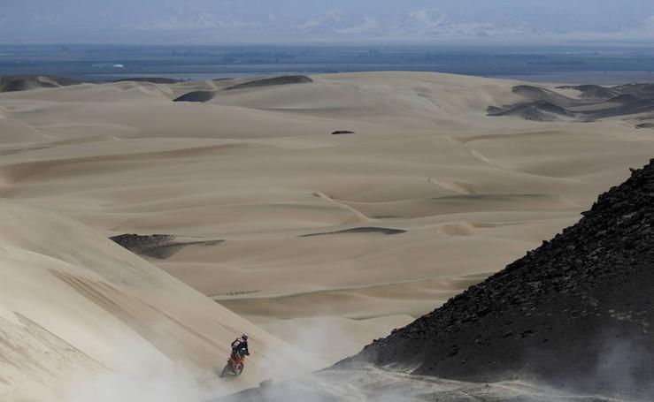 Las mejores imágenes de la segunda etapa del Dakar