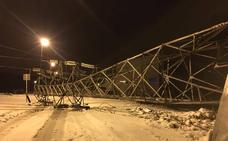 Continúan sin suministro eléctrico una decena de los cuarenta municipios afectados por el temporal