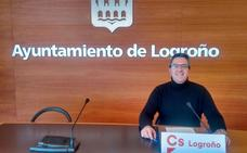 C's propone que 22 calles de Logroño sean carriles para ciclistas a 30 km/h