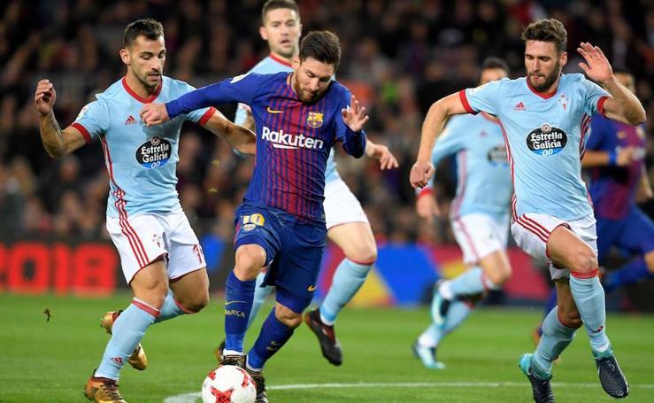 Las mejores imágenes del Barcelona-Celta