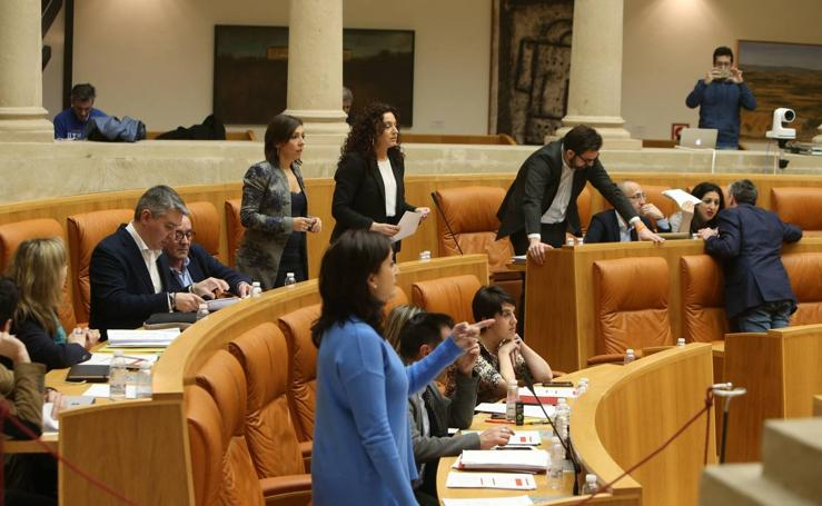 El Parlamento riojano aprueba los Presupuestos para 2018