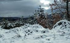 Hielo y nieve en la N-111