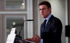 Feijóo sobre el futuro de Rajoy: «Cuando se vaya, dará una rueda para decir que ya se ha ido»