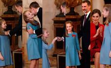 El Rey, a la princesa Leonor: «Te guiarás permanentemente por la Constitución»