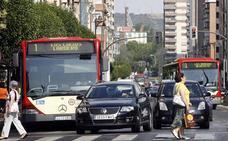 Los autobuses de Logroño recortarán a 15 minutos las frecuencias de paso los fines de semana