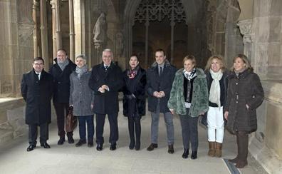 Santa María la Real, sin franciscanos pero con «normalidad»