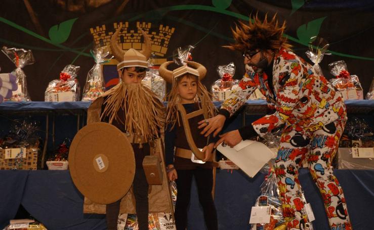 Carnaval de papel en Calahorra