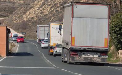 Los camiones también huyen de la AP-68 por Álava
