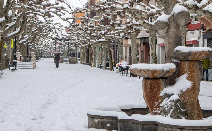 Las localidades riojanas, nevadas (II)