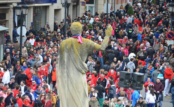 Calahorra lanza el chupinazo de sus fiestas de San Emeterio y San Celedonio (I)