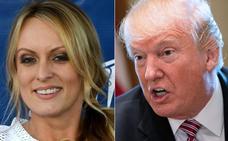 La actriz porno Stormy Daniels demanda a Trump para anular su acuerdo