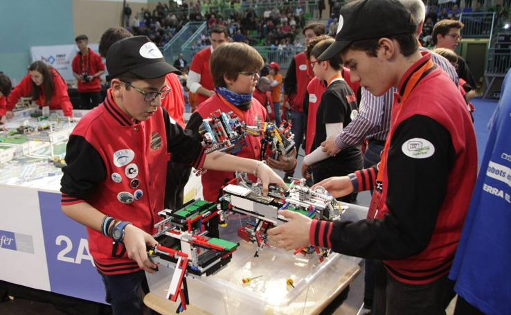 First Lego League: final nacional