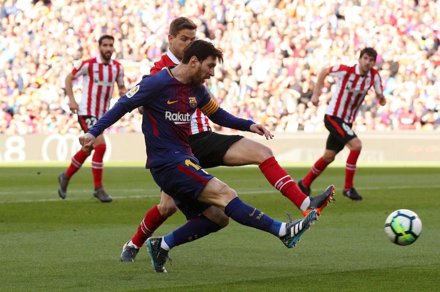 Las mejores imágenes del Barcelona-Athletic