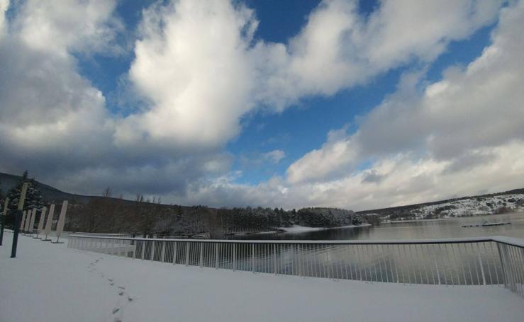 Nieve en El Rasillo