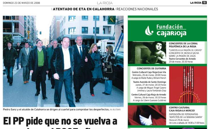 Diez años del atentado de Calahorra