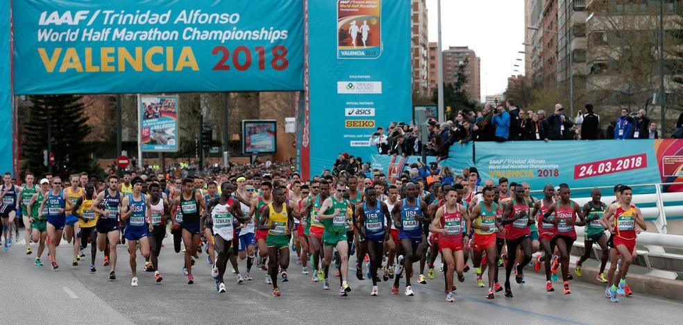 Camilo Santiago vuela en el Mundial de media maratón