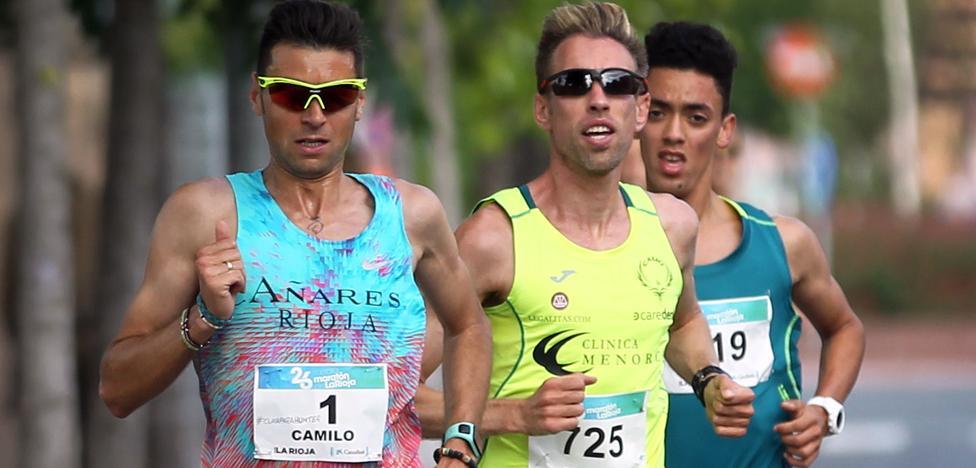 Camilo consigue la mínima continental en maratón