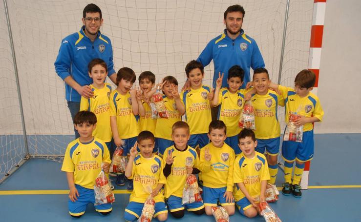 8º campeonato de fútbol sala prebenjamin 2010 Villa de Quel