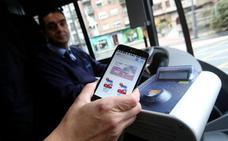 Vodafone anuncia el cese de servicio del pago mediante el móvil del billete de autobús en Logroño