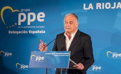 González Pons en Logroño: «De la división entre PP y PSOE surge esta planta maldita del independentismo»