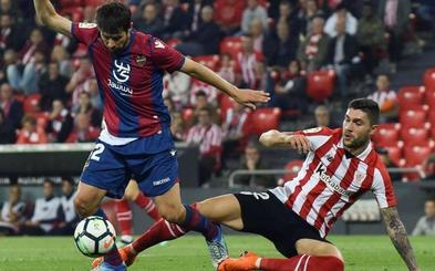 El Athletic sufre nuevo varapalo ante un Levante que roza la salvación