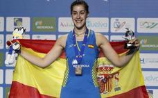 Carolina Marín, leyenda única en Europa