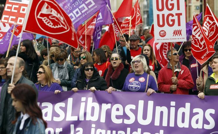 Manifestación del 1 de Mayo en Logroño