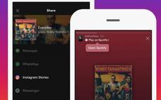Cómo compartir lo que escuchas en Spotify en tus Stories de Instagram