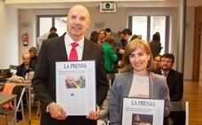 Fernández Beneite recibe el Fuera de Denominación de la prensa riojana