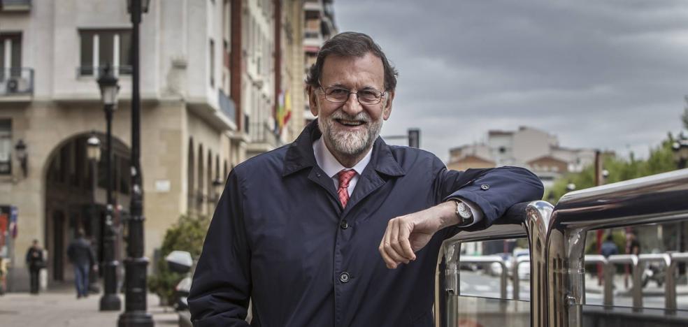«Estoy seguro de que más pronto que tarde vendré en AVE a Logroño»