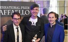 El pintor riojano Pako Campo recibe el premio internacional de arte Raffaello en Italia