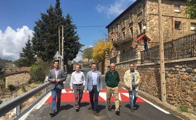 Finalizan las obras en la carretera de acceso a Lumbreras