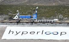 Fomento quiere traer a España los trenes de Hyperloop