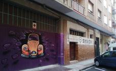 #Andestaba: grafiti en un garaje