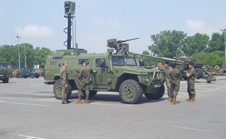 Logroño, casi listo para el Día de las Fuerzas Armadas